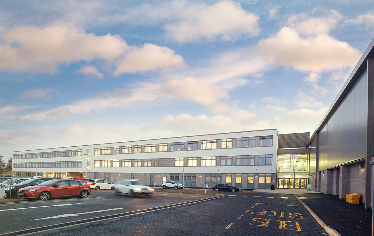 Curtain Walling For Forfar Community Campus Avtek Solutions